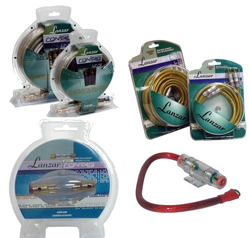 Аксесуары, провода подключения акустики, предохранители