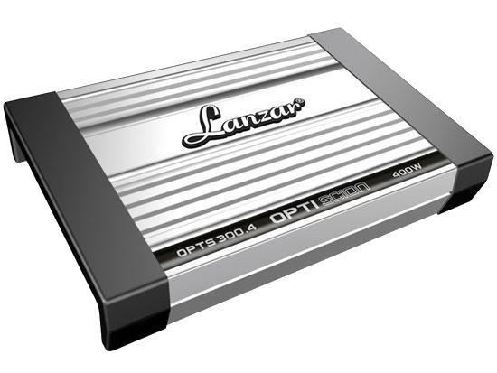 Автомобильные усилители Optidrive: Lanzar OPTS250.2, Lanzar OPTS300.4 и Lanzar OPTS-350.2